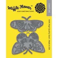 Waffle Flower dies - Pretty Butterflies