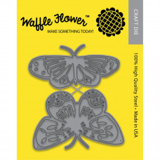 Pretty Butterflies - dies by Waffle Flower