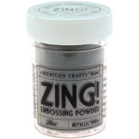 Zing silver embossing powder