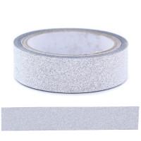 Glitter Tape - Silver