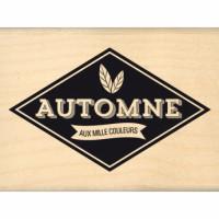 AUTOMNE AUX MILLE COULEURS-  Wood Mounted Florilège Stamp
