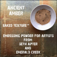 Baked Texture Embossing Powder - Ancient amber
