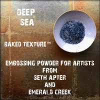 Baked Texture Embossing Powder - Deep sea