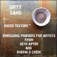 Baked Texture Poudres d'embossage par Seth Apter - Dirty Sand