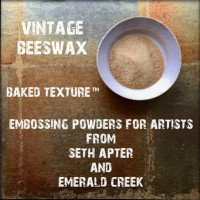 Baked Texture Poudres d'embossage par Seth Apter - Vintage Beeswax