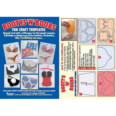 Bootys 'N' Boobs – Fun Craft Templates