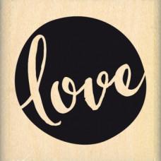 BULLE DE LOVE - Florilège Tampon monté sur bois