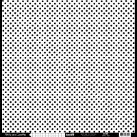 Papier cardstock Kesi'art Pois - Ligne: Blanc