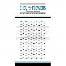 Chou & Flowers Clear stamps - Fleur Fond