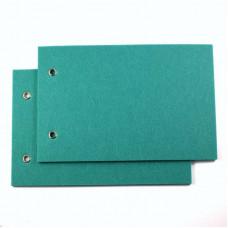 Felt Album Covers turquoise - pair 12 x 18 cm
