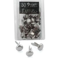 50 pewter Brads