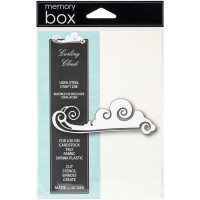 Memory Box die Curling Cloud