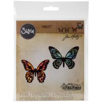 Sizzix Thinlits Die - Papillons Détaillés, Mini