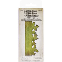 On the Edge die Boughs of Holly border - Sizzix Die By Tim Holtz