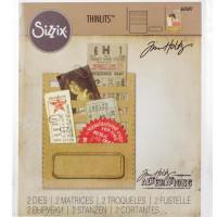 Sizzix Thinlits Dies By Tim Holtz - Stitched Slots