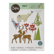 Christmas Elements Sizzix Thinlits Dies