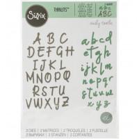 Alphabet Set - Sizzix Thinlits Dies
