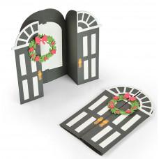 Sizzix Dies Fold-A-Long Card, Door