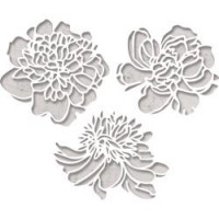 Sizzix Thinlits dies Cutout Blossoms 664161 By Tim Holtz