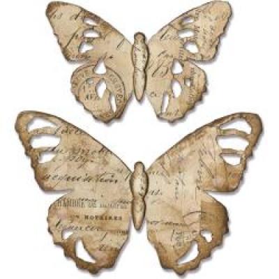 Tattered Butterfly- Sizzix Bigz Die Tim Holtz