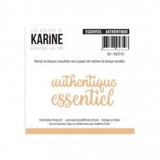 Bienvenue chez moi Essentiel Authentique dies - Les Ateliers de Karine
