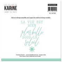 Die Carnet de Route Texte au soleil - Les Ateliers de Karine