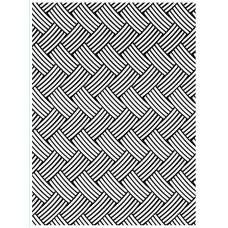 Basket Weave - Darice Embossing folder