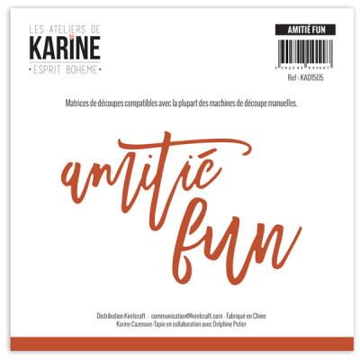 Word Dies Amitié - Fun : Ateliers de Karine