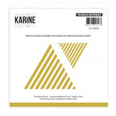 Hey Baby Graphic Triangles dies - Ateliers de Karine