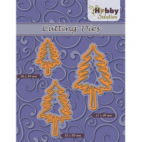Nellie's choice Hobby Solution dies - 3 pine trees