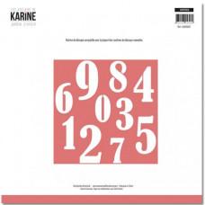 Die Jardin d'Hiver Chiffres (numbers) - Les Ateliers de Karine