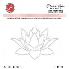 Lotus flower die - Harmonie collection by Mes p'tits ciseaux