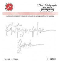 Duo photographie zoom dies - Harmonie collection by Mes p'tits ciseaux