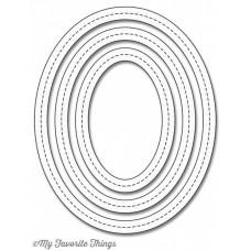 Die-Namics Single Stitch Line Oval Frames dies