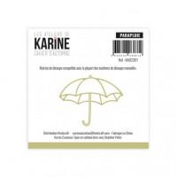 Umbrella Die Cahier d'Automne - Les Ateliers de Karine