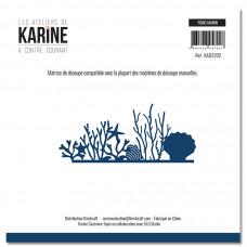 Die A contre courant Fond marin - Les Ateliers de Karine