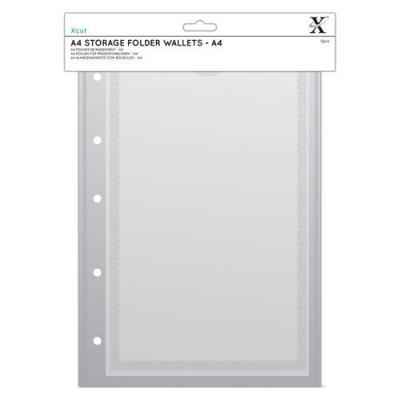 Xcut A4 Storage Folder Wallets