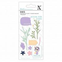 Xcut Small Dies Flower Jar