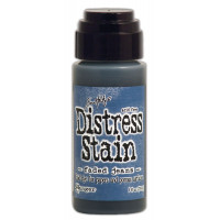 Distress Stain Faded Jeans