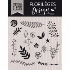 DOUCE NATURE - Tampons transparents par Floriliege