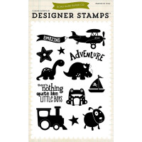 'Boy adventure' stamps by Echo Park