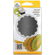 "EK Success 2.25"" Scalloped Circle Paper Punch"