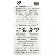 "les P'tits Mots d'Epheméria ""Urban Jungle"" - Sticker Sheet"