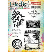 PaperArtsy stamps mounted on EZ foam - Everything Art EEA01
