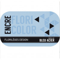 Ink BLEU ACIER (steel blue) by Florilèges Design