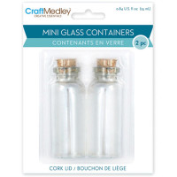 Mini glass containers