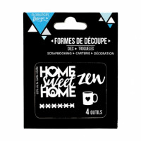 Florilèges Design Die : HOME SWEET HOME