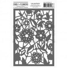 Chou & Flowers Stencil - Dentelle