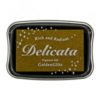 Delicata Golden Glitz Ink Pad