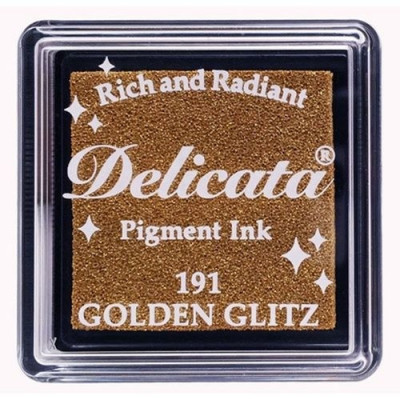 Delicata Golden Glitz Mini Ink Pad